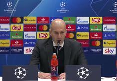 """Zinedine Zidane tras ganar en Champions League: """"Nos ha costado pero es un buen resultado"""""""
