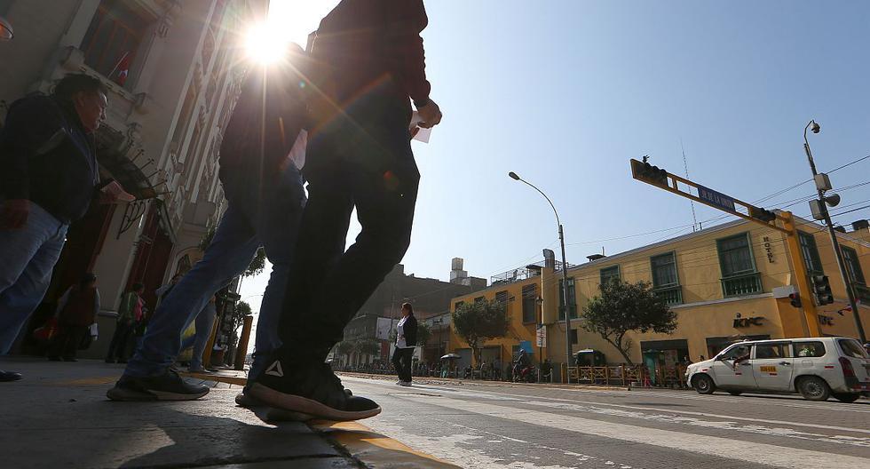 El índice máximo UV en Lima en la capital alcanzará el nivel 15 este viernes, según pronosticó el Senamhi. (Foto: GEC)