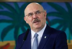 """El ministro de Educación de Brasil asocia la homosexualidad a """"familias desestructuradas"""""""