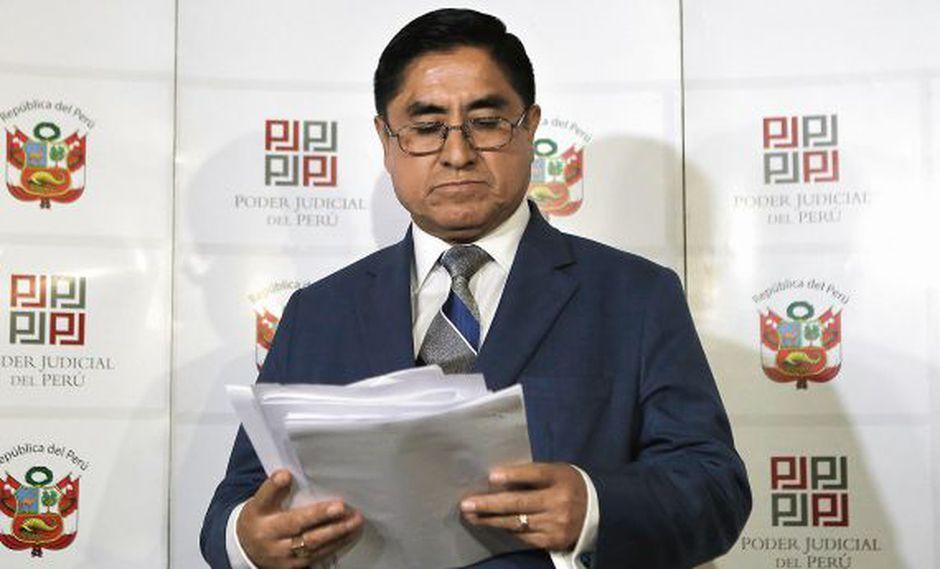 En la subcomisión está en proceso la elaboración de un informe sobre el caso de Hinostroza y del CNM. (Foto: Alonso Chero/ El Comercio)