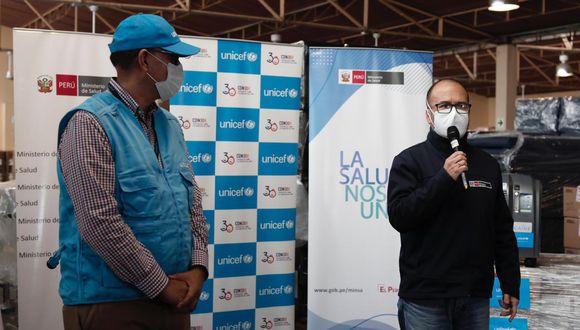 Unicef Perú donó 40 concentradores de oxígeno medicinal para Loreto, Ucayali y Amazonas (Foto: Ángela Ponce)