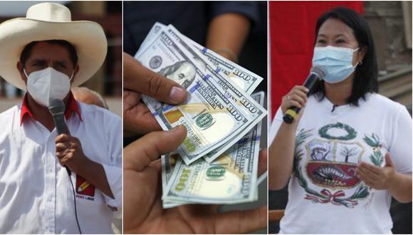 El dólar tiene un avance de 6,24% en lo que va del 2021, en comparación al resultado anotado al cierre del año pasado. (Fotos de izquierda a derecha: Randy Reyes/Reuters/Hugo Pérez(
