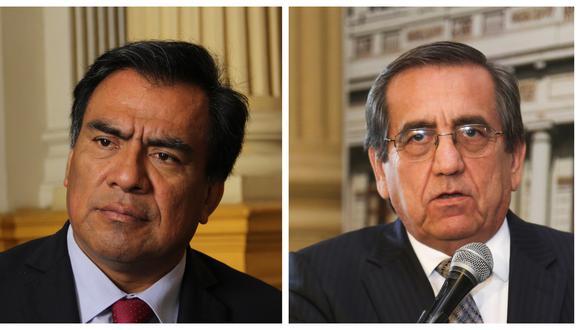Subcomisión de Acusaciones Constituciones rechaza informes contra excongresistas apristas Javier Velásquez Quesquén y Jorge del Castillo (Fotos: Grupo El Comercio)