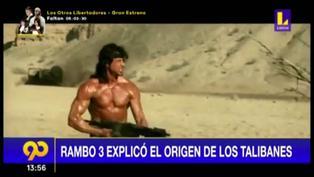 """Película de """"Rambo 3″ explicó el origen de los Talibanes en Afganistán"""