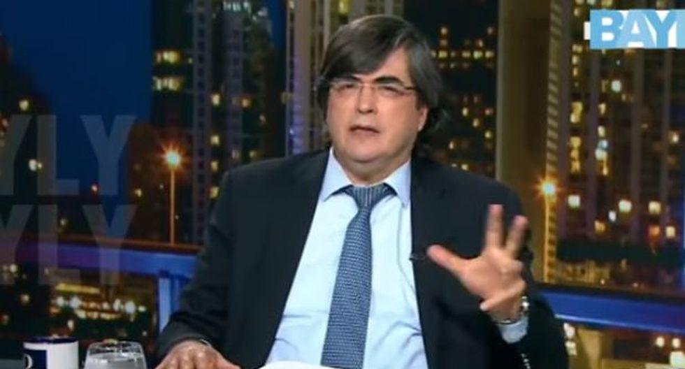 Jaime Bayly. (Captura: Mega TV)