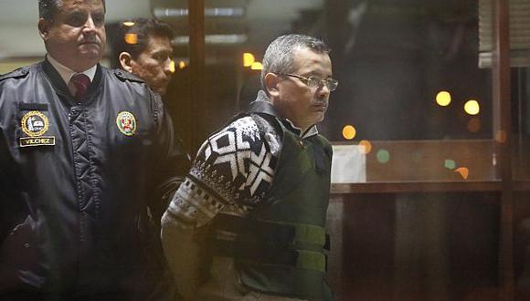 Rodolfo Orellana fue recluido hoy en penal de Challapalca