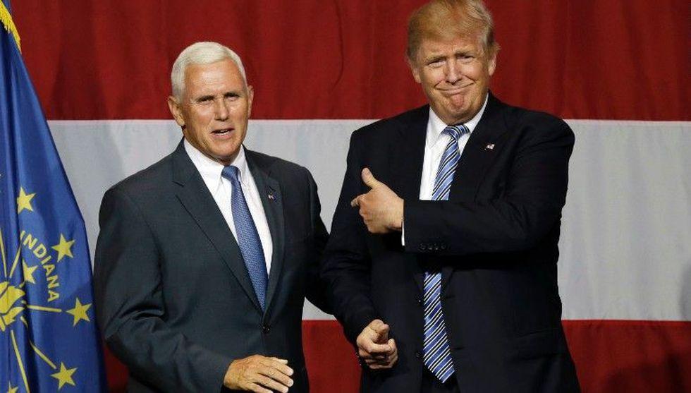 Pence no solo ha sido uno de los más fieros defensores de las polémicas medidas de Trump, también es el gran nexo entre el presidente y los mayores empresarios estadounidenses. (AP)