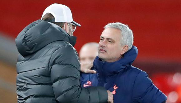 José Mourinho se refirió a la victoria de Jürgen Kloop en The Best. (Foto: AFP)