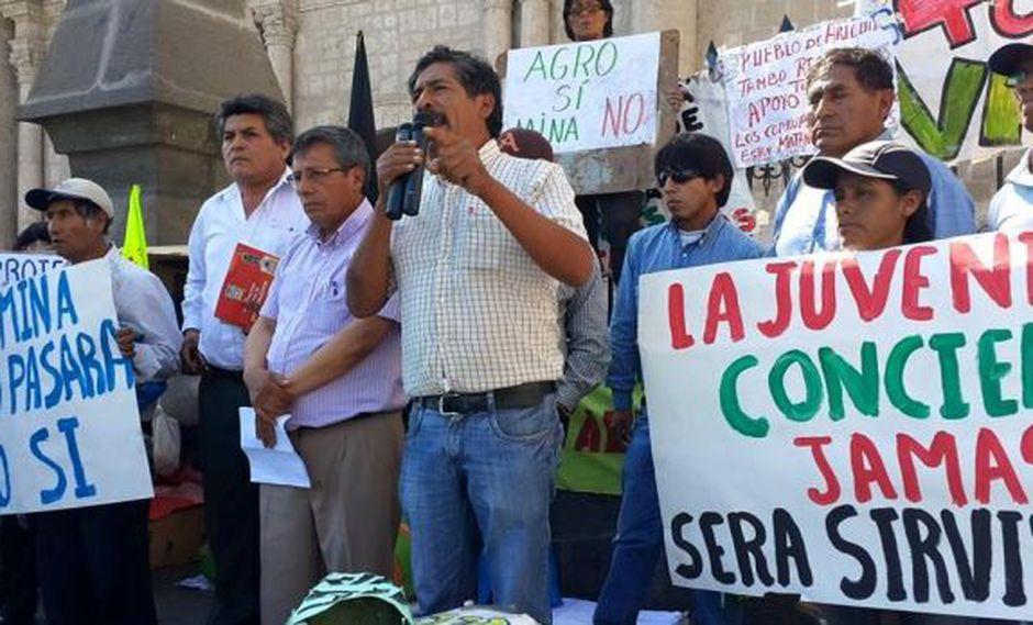 Audio sobre Tía María: alcalde y dirigente niegan negociado