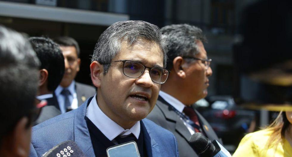 El fiscal José Domingo Pérez hizo un llamado a la prudencia al presidente del Poder Judicial. (Foto: José Saucedo/GEC)