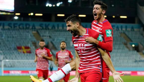 Granada enfrenta al Nápoli en el partido de ida por los dieciseisavos de final de la Europa League | Foto: Granada FC