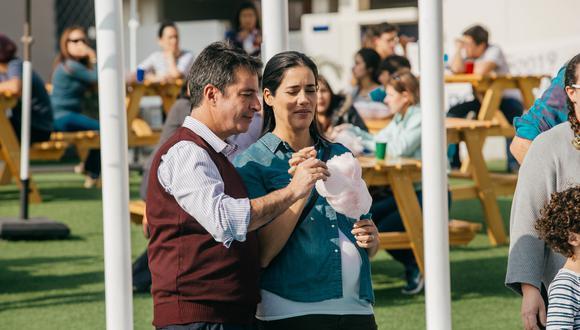Carlos Carlín y Gianella Neyra protagonizan la cinta (Foto: Difusión)