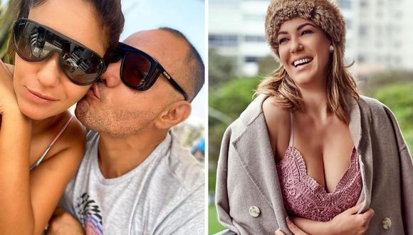 """Tilsa Lozano reveló que abrió su """"corazón"""" a Jackson Mora. (Foto: Instagram / @jacksonmorarodriguezz / @tilsa_lozano)."""