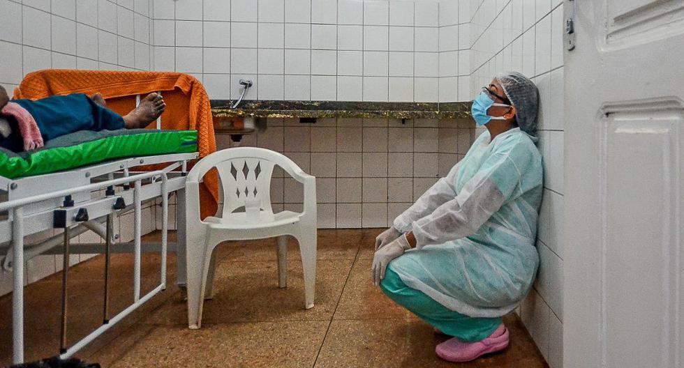Coronavirus en Brasil   Últimas noticias   Último minuto: reporte de infectados y muertos por COVID-19 hoy, martes 15 de junio del 2021. (Foto:  Joao Paulo Guimaraes / Archivo AFP)