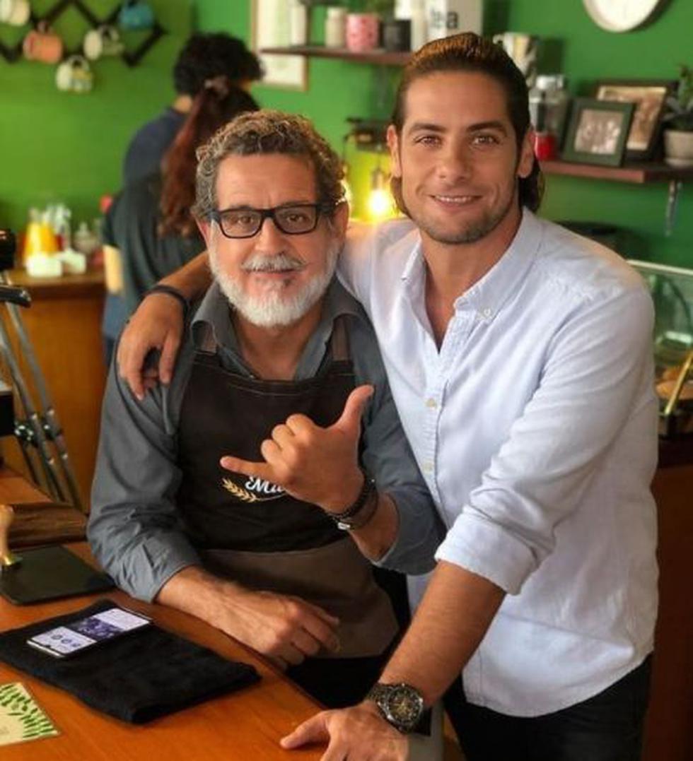 """Sergio Galliani y Andrés Wiese integran el elenco de actores de """"Junta de vecinos"""". (Foto: @juntadevecinos_fans)"""