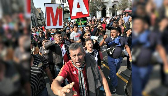 Algunos sindicatos de maestros han convocado para un paro mañana 5 de abril.
