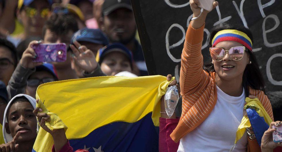 Venezuela Aid Live en Cúcuta, Colombia (Foto: Agencia)
