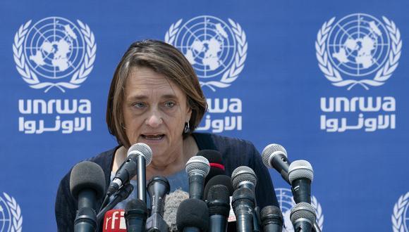 Lynn Hastings, coordinadora humanitaria de la ONU para los territorios palestinos ocupados. (Foto: AP)