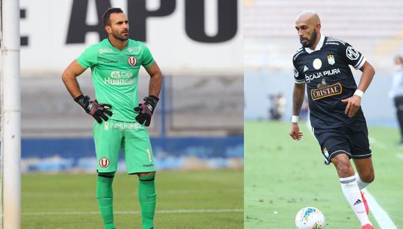 Carvallo, el capitán crema, es una de sus figuras. Mientras, Riquelme aún no aparece en la Copa. (Fotos: Liga 1)