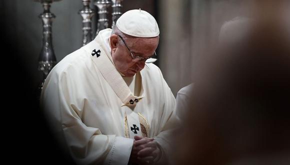 Papa Francisco profundamente consternado por tiroteo en catedral de Brasil. (AFP)
