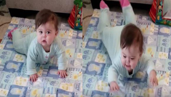 Curiosa bebé baila al ritmo de 'Cardi B' y el video de seguro te robará el corazón. (Foto: Captura YouTube)