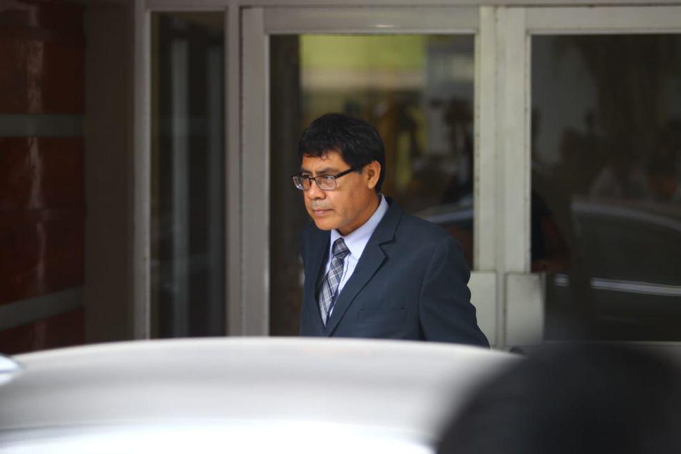 El fiscal Germán Juárez está a cargo de la diligencia. Foto: El Comercio