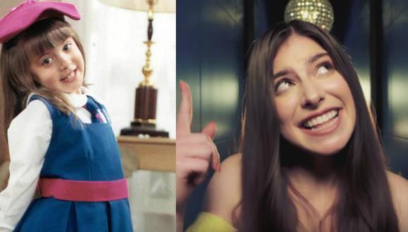 """YouTube: Daniela Aedo, la protagonista de """"Carita de Ángel"""", debuta como cantante"""
