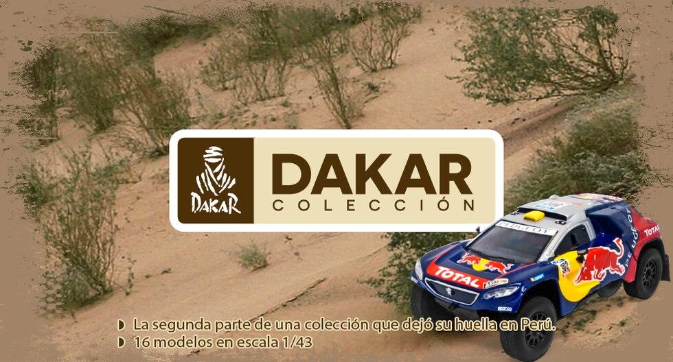 La colección se inicia este sábado 24 de marzo y está compuesta por 16 vehículos a escala 1/43 con sus respectivos fascículos.