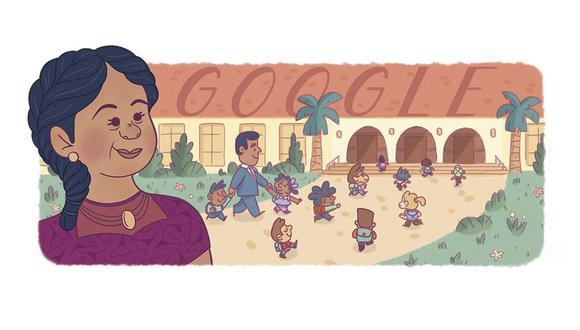 Según Google, la lucha de Méndez se inició cuando se les negó la inscripción en una escuela pública local debido a su origen étnico y color de piel. (Google)