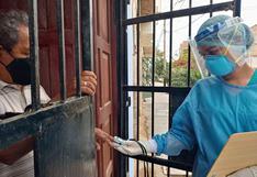 Brigadas de EsSalud visitan casa por casa en zonas críticas de Lambayeque para detectar el coronavirus