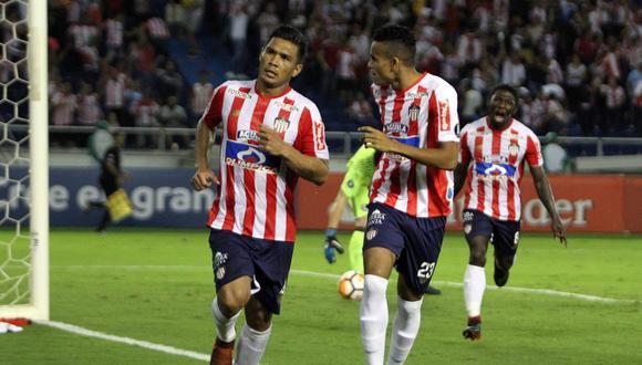 Junior remontó la serie ante Olimpia de Paraguay en Barranquilla y completó la hazaña para acceder a la tercera fase del torneo. (Foto: EFE)