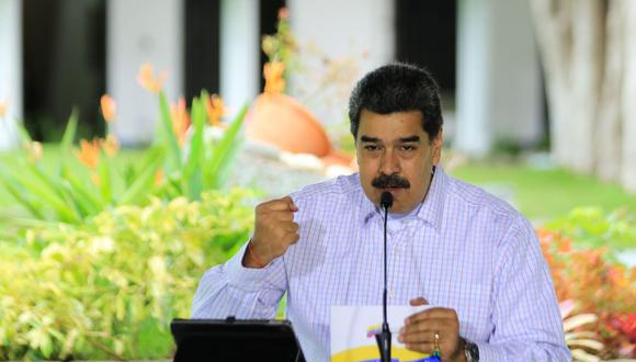El presidente de Venezuela Nicolás Maduro. (AFP).