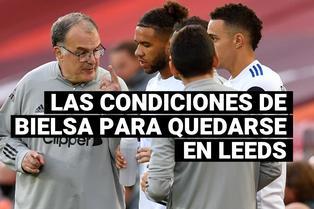Las condiciones que puso Marcelo Bielsa para quedarse en la Premier League