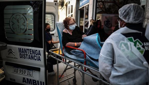 Coronavirus en Argentina | Últimas noticias | Último minuto: reporte de infectados y muertos hoy, lunes 07 de junio del 2021 | Covid-19 | (Foto: EFE/Juan Ignacio Roncoroni).
