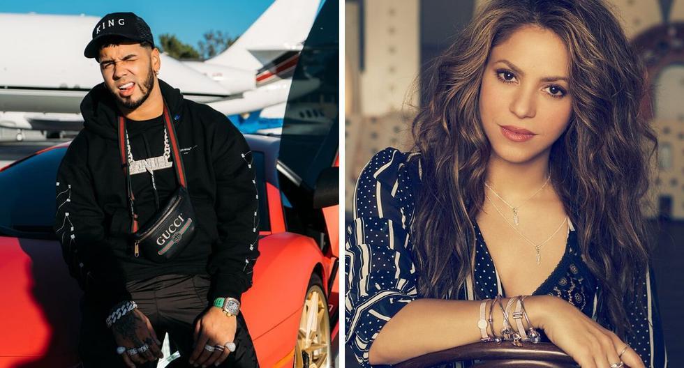 Shakira adelantó en una entrevista hace días que pronto lanzaría un sencillo al lado de un reguetonero. (Foto: @shakira / @anuel_2blea)
