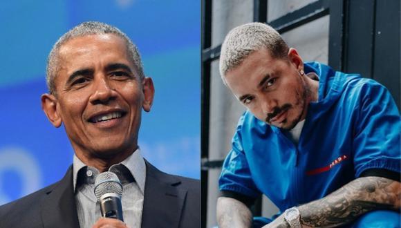 """Barack Obama incluye a """"Un día"""" en su lista de canciones favoritas. (Foto: CHRISTOF STACHE-AFP/@jbalvin)"""
