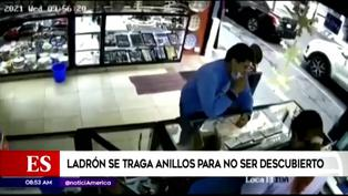 México: delincuente se traga anillos de oro tras ser descubierto