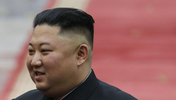 El líder de Corea del Norte, Kim Jong-un, no es visto en público desde principios de abril. (Photo by KHAM / POOL / AFP).
