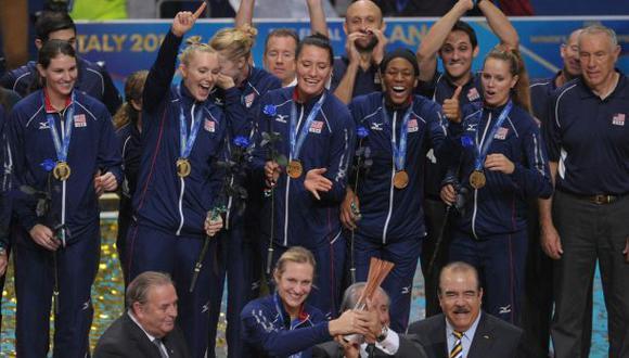 EE.UU. ganó el Mundial Femenino de Vóley por primera vez