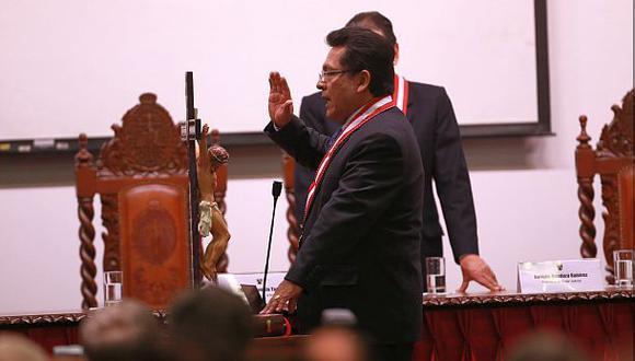 Carlos Ramos Heredia: Congresistas saludan su destitución