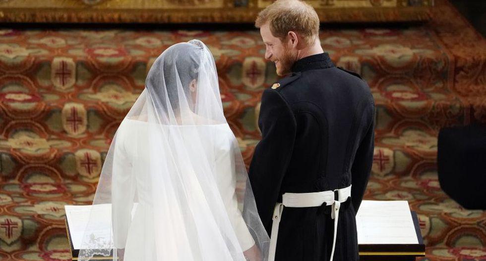La boda de los duques de Sussex de realizó en la Capilla de San Jorge, el Castillo de Windsor, en Windsor el 19 de mayo de 2018.  (Foto: AFP).