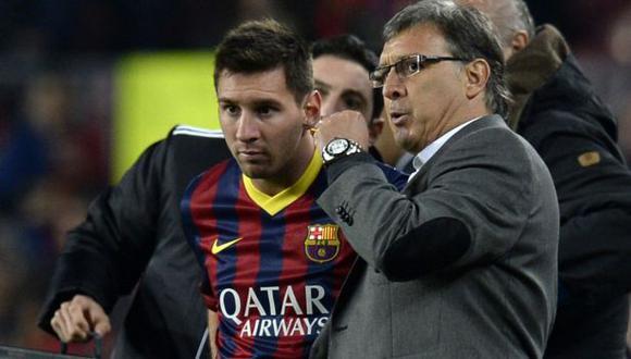 Gerardo Martino estuvo al mando del FC Barcelona en la temporada 2013-14. (Foto: AFP)