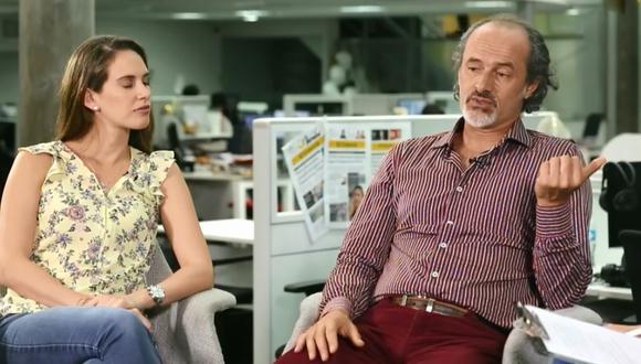 Emilia Drago y Carlos Alcántara en El Comercio.