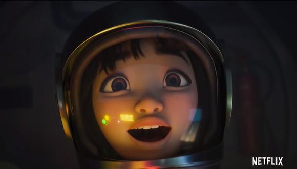 """Netflix estrenó el tráiler final de su película animada """"Más allá de la luna"""". (Foto: Captura de video)"""