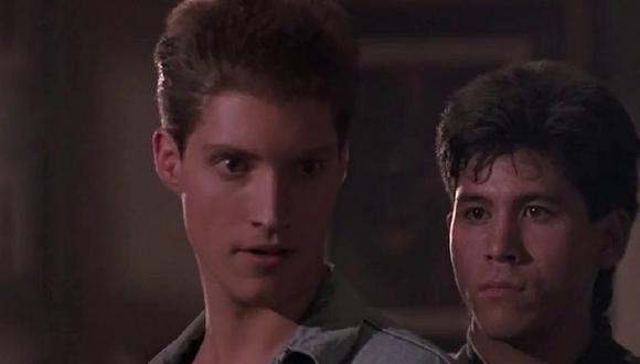 "Sean Kanan interpretó a Mike Barnes en ""Karate Kid 3"" (Foto: Sony Pictures)"