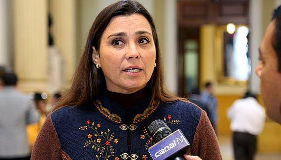 """""""Le diría a Carlos Bruce que con el Ejecutivo hemos tenido una coordinación bastante buena"""", dijo Karla Schaefer. (Foto: El Comercio)"""