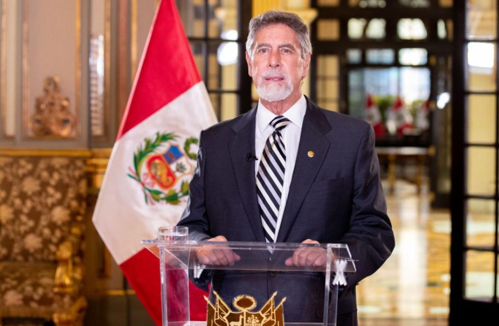 El presidente Francisco Sagasti dio a conocer el nombre oficial del año 2021 en el Perú   Foto: Andina