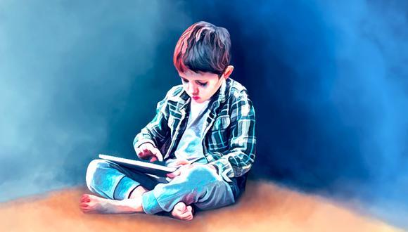 Según especialistas, algunos niños se aíslan en sus videojuegos o equipos electrónicos. (Ilustración: GEC)