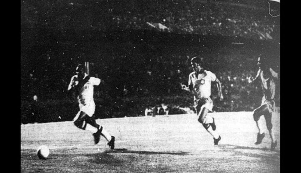 Imagen del partido disputado en el Maracaná. (Foto: Archivo Histórico de El Comercio)