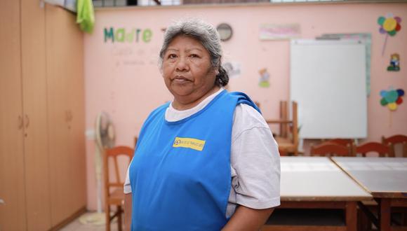 Ofelia Vilda se desempeña como trabajadora del hogar desde los 7 años. Actualmente asesora a otras mujeres en La Casa de Panchita. (Foto: Ana Monzón)